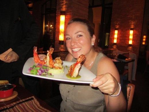 Biggest prawns since Singapore