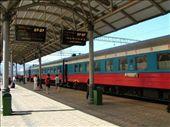 The train at Krasnoyarsk station.: by paul, Views[422]