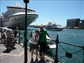 Here we are at Sydney harbour.  Some nice American tourists took this picture for us.: by paul_byrom, Views[150]