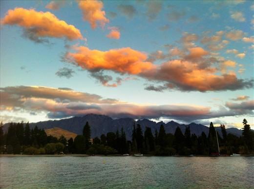 Sunset in Wanaka