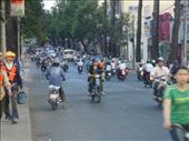 Ahh traffic ! the photo just does not do the traffic any justice , its motorbikes , in herds , they come from everywhere !: by paulmatthew, Views[139]