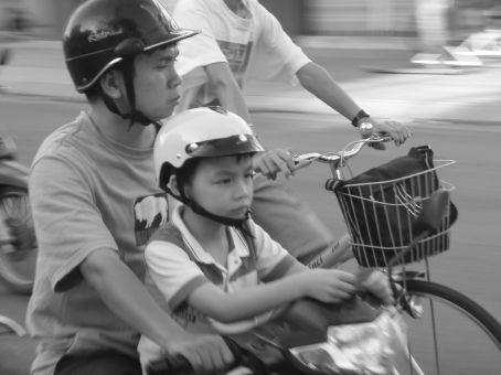 Father and son , Nha Trang