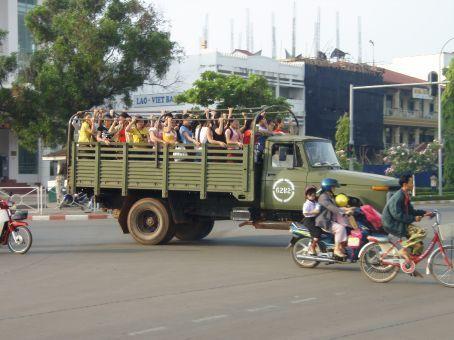 School bus ... Vientiene