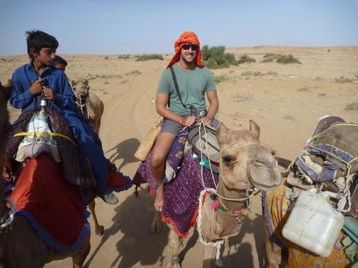 Turban pete on his camel