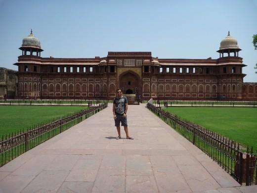 Inside Agra Fort again!