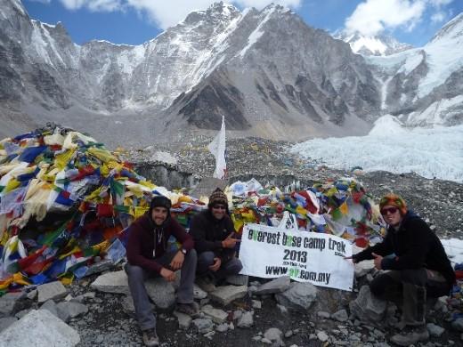 Mount Everest base camp ... 5364m!   12.05 09/05/13