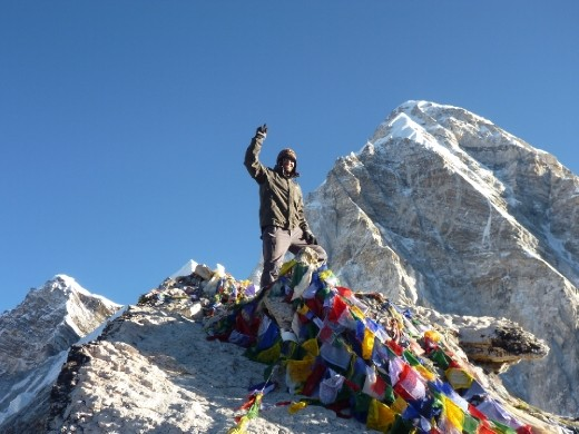 Summit of Kala Patthar 5550m!