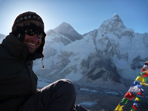 Me and Mt Everest 8848m!