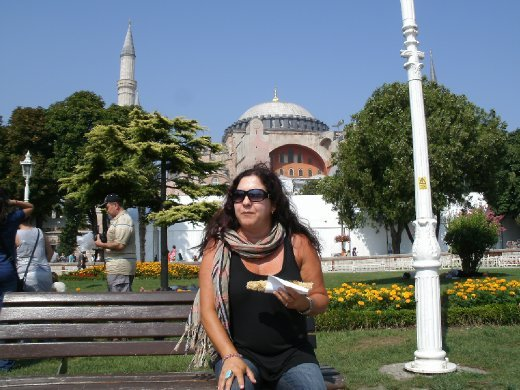 Blue Mosque gardens