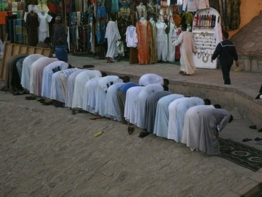 Prayer Time - which way to Mecca?