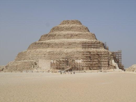 Saqqara site - Zoser Pyramid