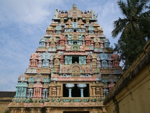 Trichy Temple India Tamil Nadu Madurai And Trichy