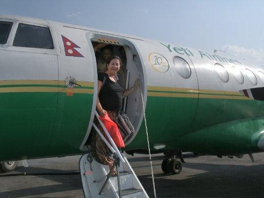 Arriving in Kathmandu from Indian border