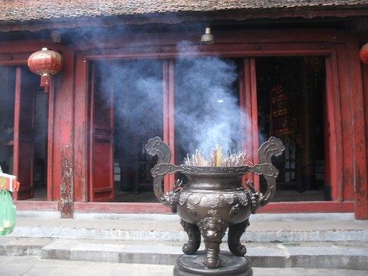 Hanoi temple in Hoan Kiem