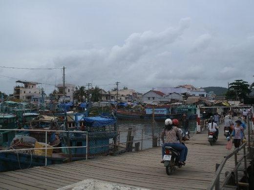 Phu Quoc removable bridge