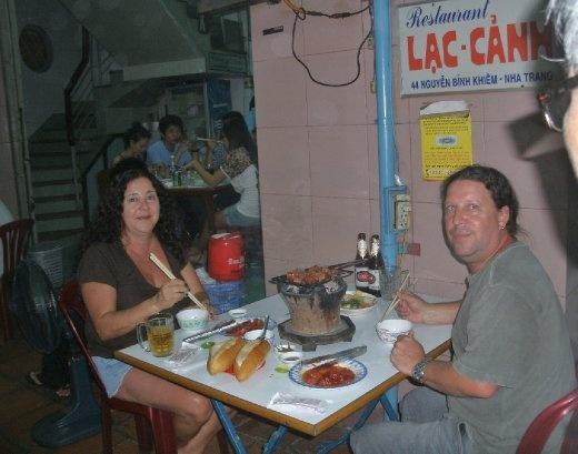 Nha Trang - Lac Canh restaurant