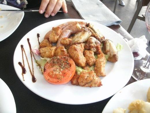 Pica Pica menu - Gloria restaurante