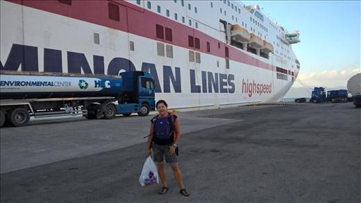 Patras to Ancona in Italy
