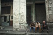 In habana vieja, one of the things that captured my attention everywhere is how much people love to talk. Its very common to find them sitting in their porches or outside a bulding just having long conversations: by pausalazar, Views[278]