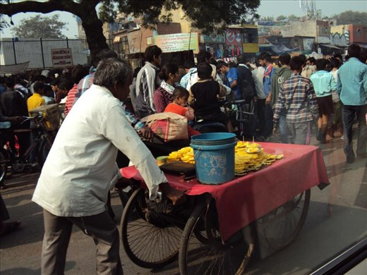 First Impressions of India ¦ Delhi Old Town Market #1