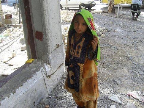 Pakistani child beggar
