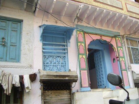 Side street off bazaar