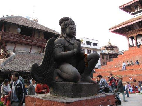 temple square in KTM