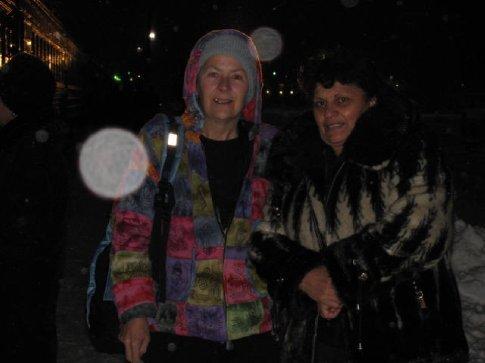 Me and Armenian lady