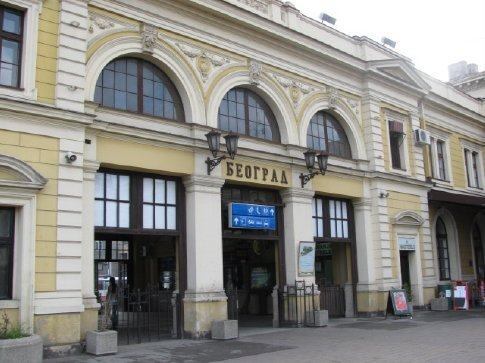 Belgrade 7.30 am Pastrıes and coffee