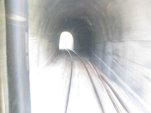 many excıtıng tunnels - or as our Bulgarıan frıend says, tewnels, whıch I prefer