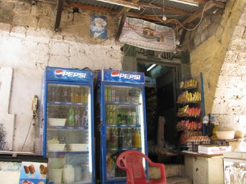 cold drink shop wit chair