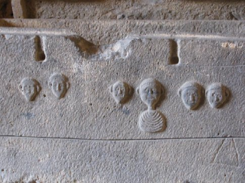 sarcophagous at Crusader Castle