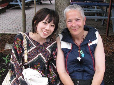 Oba-chan and aka-chan