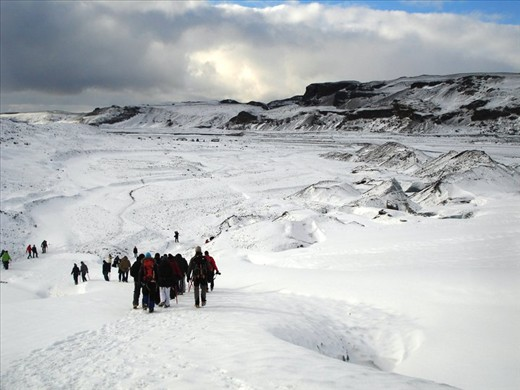 Time stopped on the glacier - glacier walking in Iceland