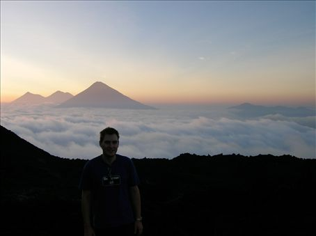 Sunset from Volcan Pacaya