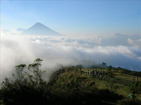 From Volcan Pacaya.