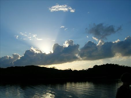 Sunrise on Roatan