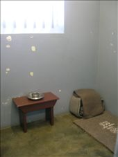 Mandelas cell for the 18 years he spent on Robben Island: by pen-eddie, Views[433]