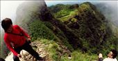 The ultimate quest in conquering fear of heights (Pico de Loro's Monolith): by peppermench, Views[442]