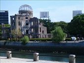 The A-bomb dome, it's all explained in the next photo if you can read it.: by peter_allen, Views[860]