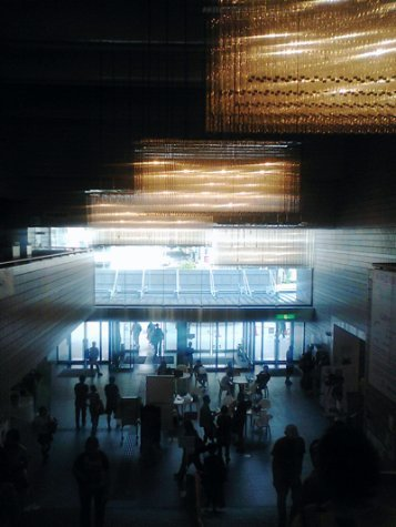 Inside the foyer