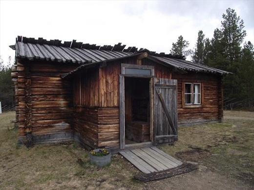 Two Room House 2 inari, sami two room house - northern and eastern points in eu
