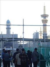 Iran - Mashhad - a glimpse inside the Holy Shrine complex