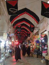 Iran - Kashan - bazaar with Moharram banners: by piglet, Views[147]