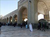 Iran - Mashhad - an entrance to the Holy Shrine