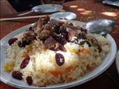 Lamb pilaf at the Turpan village lunch: by piglet, Views[553]
