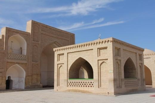 Merv - tomb of Hoja Yusuf Hamadani