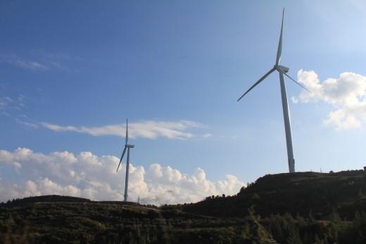 Turket - Seleucia Pieria - wind farms
