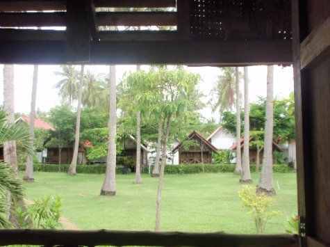 view from Emerald bungalows, Koh Lanta