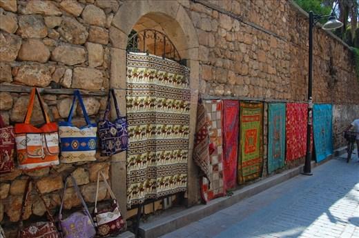 Alley near hotel in Antalya